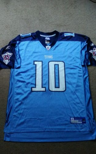 MEN'S TENNESSEE TITANS VINCE YOUNG THROWBACK JERSEY NFL SIZE XL