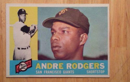 1960 Topps #431 Andre Rogers Giants Baseball