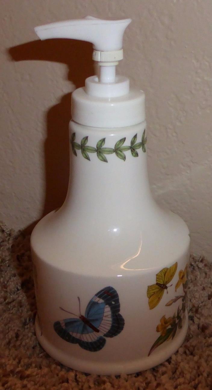 PORTMEIRION Botanic Garden  Jasminum Revolutum Porcelain SOAP Pump Dispenser