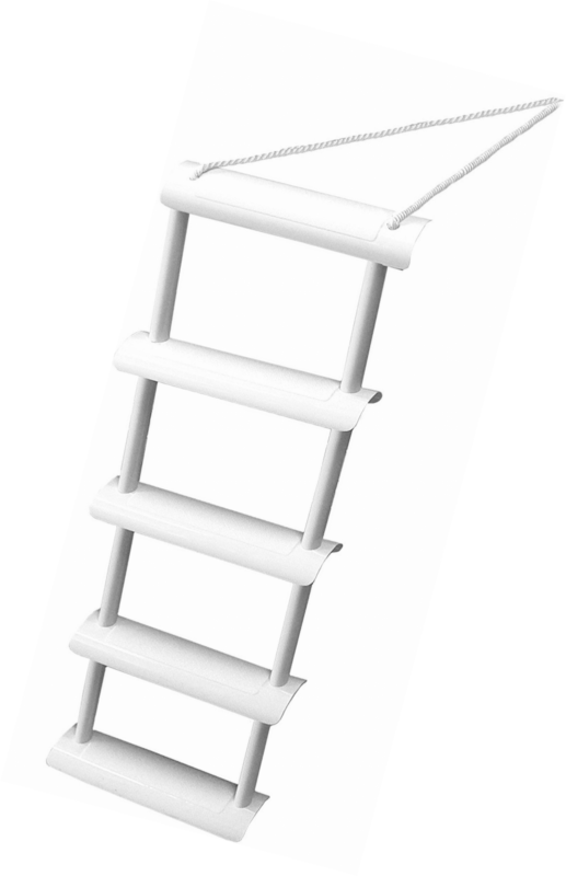 Shoreline Marine Five Step Folding Rope Ladder