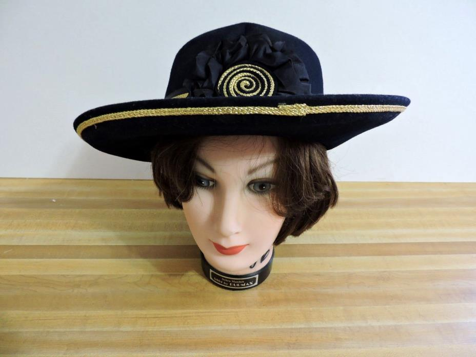 VINTAGE LADIES Derby HAT Church Hat Wedding Hat