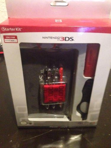PowerA Universal Nintendo 3DS Starter Kit Red