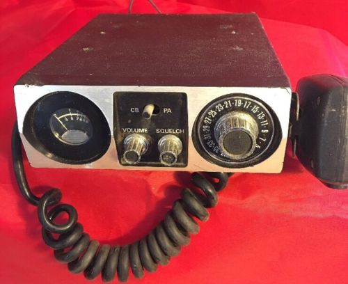 Vintage KRACO 40 Channel CB Radio With Mic KCB 4000 Power Tested Works