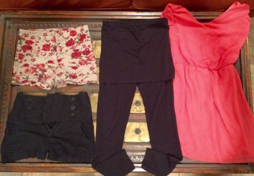 womens juniors Lot Dress Shorts Sz 2 XS S
