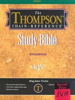 Thompson-Chain Reference Bible-KJV by Kirkbride Bible Company Bonded Leather Boo