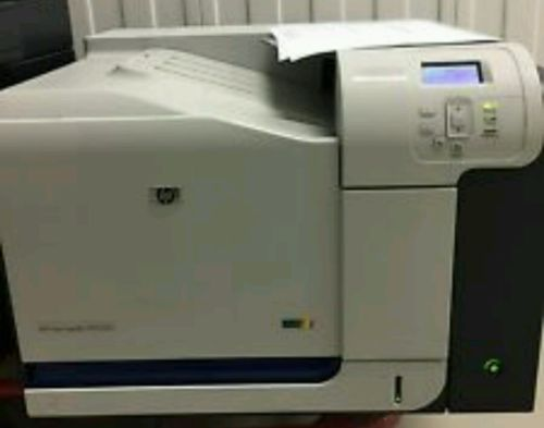 HP LaserJet CP3525DN Laser Printer under 40,000 pages w/ toner ! CC470A