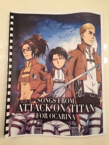 Attack On Titan Anime Ocarina Sheet Music