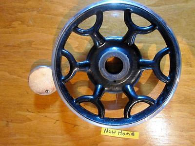 VINTAGE NEW HOME TREADLE  SEWING MACHINE PARTS  DRIVE WHEEL