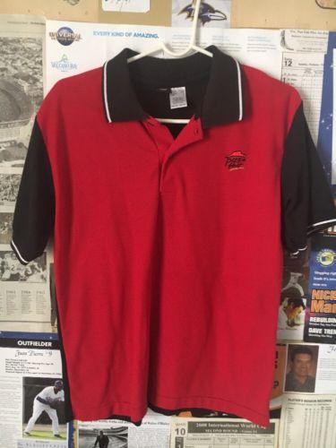 Pizza Hut Red/Black Employee Uniform Polo Shirt S
