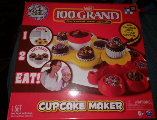 100 Grand - Cupcake Maker Create/Decorate Activity Kit