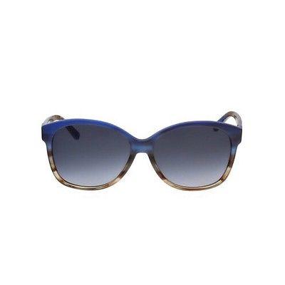 Men's Lacoste Blue Brown Gradient Lens Aviators