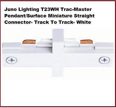 Juno T23-WH Miniature Straight Connector-WHITE-NIB