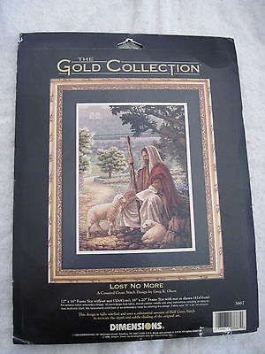 LOST NO MORE Greg K. Olsen Dimensions GOLD Counted Cross Stitch - NEW open kit
