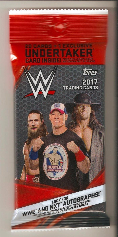 2017 TOPPS WWE WRESTLING Relic/Kiss/Auto/Mat/Plate JUMBO HOT PACK 1/1?