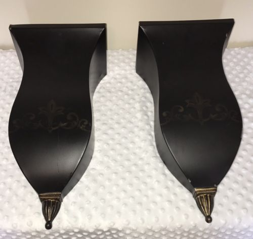 Southern Living at Home Florentine Sconce Flower Bucket - Set of 2!
