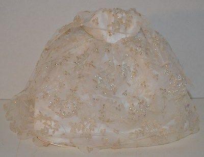 Barbie Wedding Dress from 1997!  This elegant dress is satin overlaid  taffeta