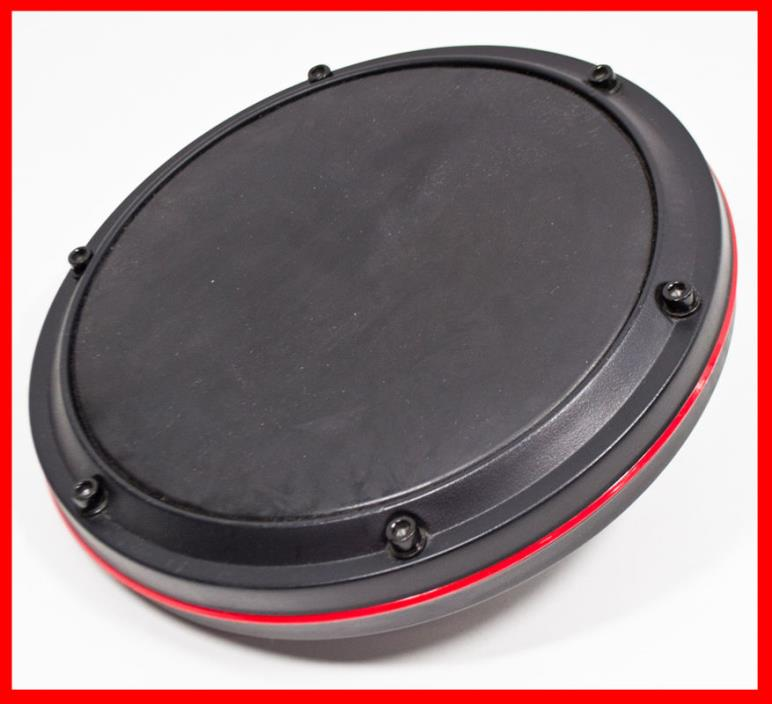 Ion Drum Rocker Electronic Drum Kit Replacement Drum Pad (Red)