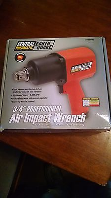 Central Pneumatic 3/4in. Professional Air Impact Wrench #68423