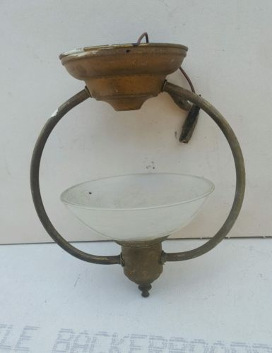 Antique Hanging Light Fixture