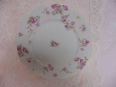 Haviland Limoges Dinner Plate Schleiger 39 Pink Trailing Roses Star Blank
