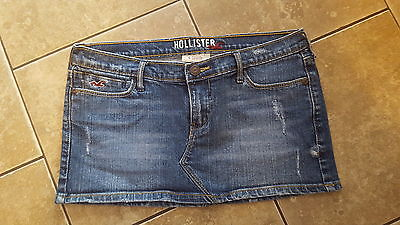 Womens Hollister jean skirt size 1 EXCELLENT  CONDITION
