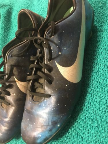 Nike Cr7 Mercurial Vapor XI Galaxy Cristiano Ronaldo Cleats Youth 5.5 Soccer