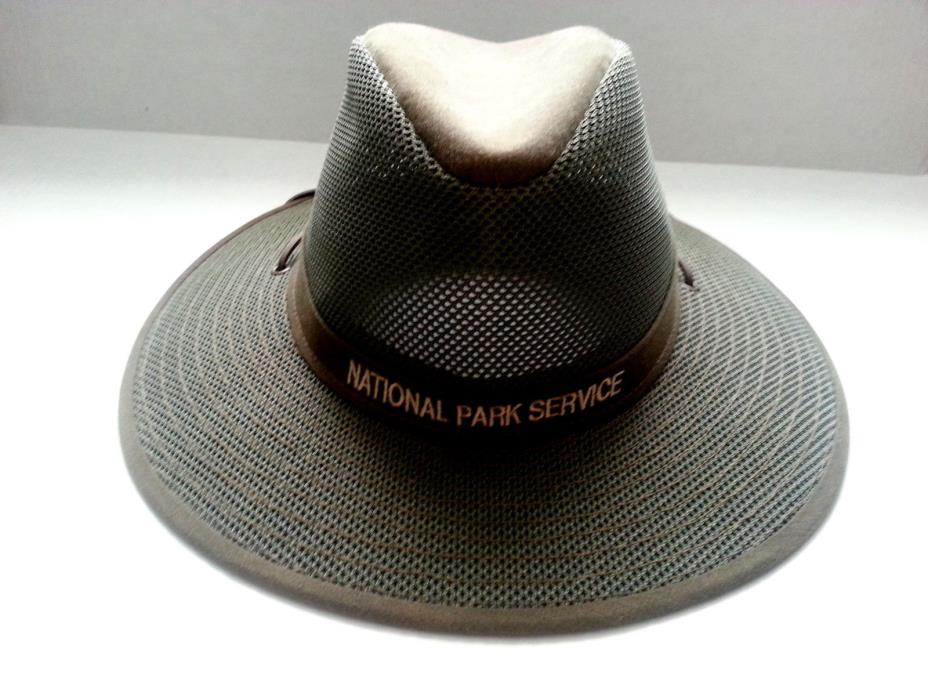 National Park Service NPS Henschel Breezer Ranger Hat Sz Large