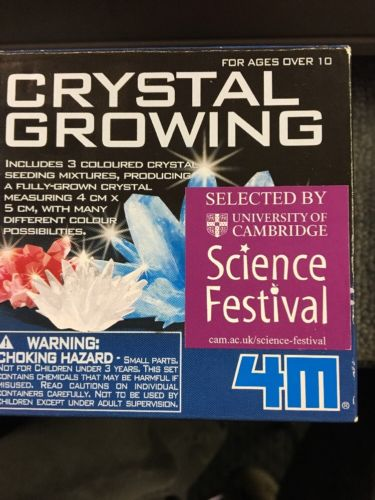 Smithsonian Crystal Growing Kit Instructions