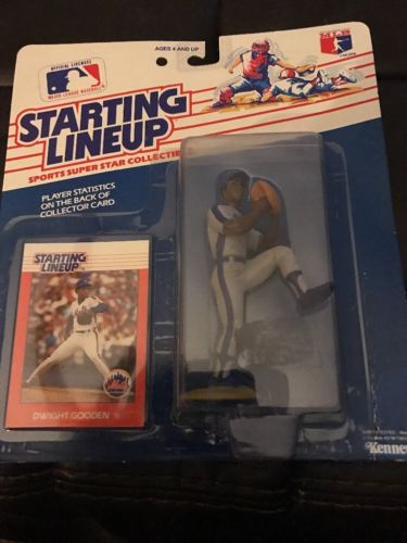 Dwight Doc Gooden Mets 1988 First Edition Starting Lineup