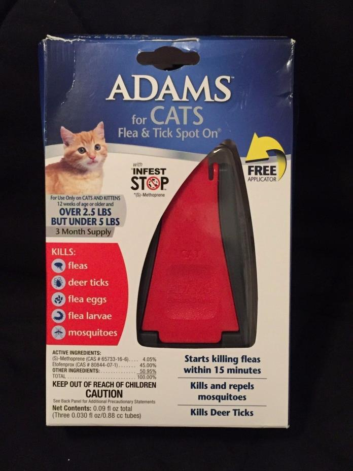 Adams Flea Prevention For Cats