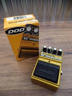 DOD FX91 Bass Overdrive Effects FX Pedal for Bass Guitar