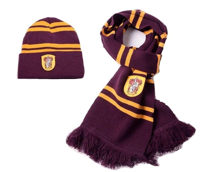 (Set of 2) Harry Potter Scarf and Hat - Scarf 70