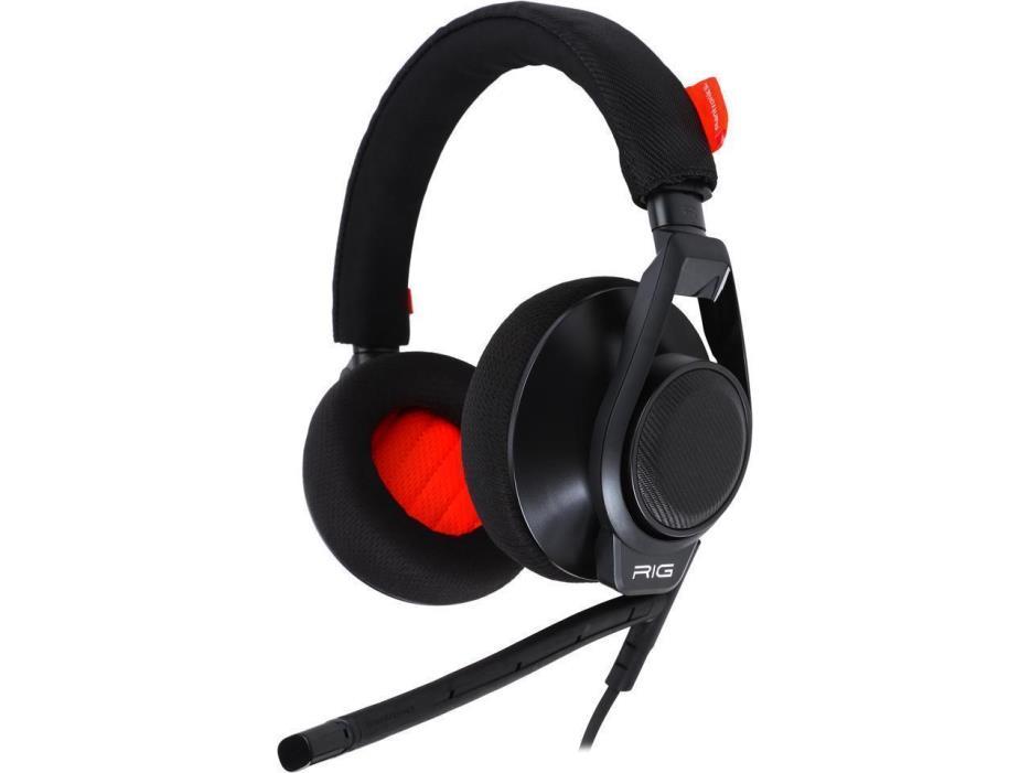 Plantronics RIG Flex 3.5mm Gaming Headset w / Boom Mic + Inline Control, PS Xbox
