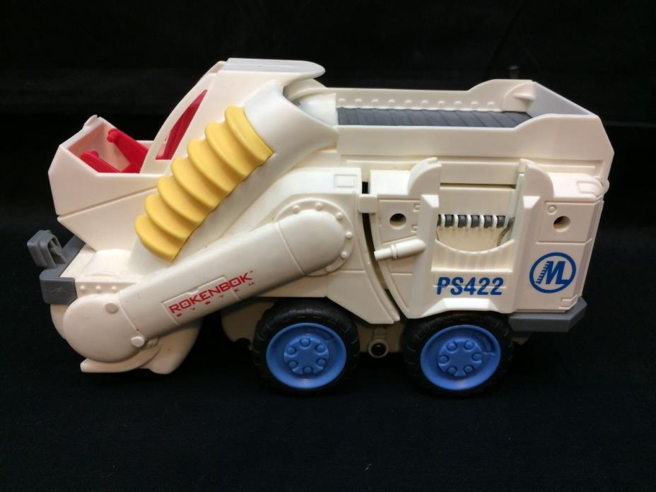 Rokenbok RC PS422 Power Street Sweeper Truck Vehicle Tested and Working VGUC!