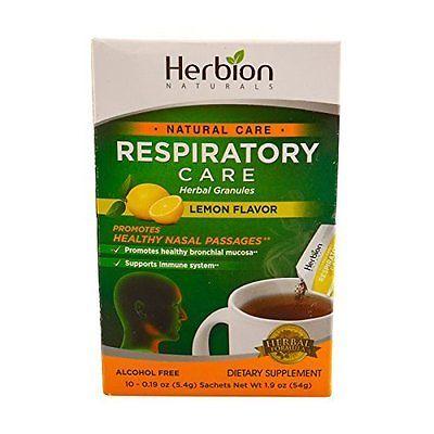 Herbion Naturals Respiratory Care - Natural Care - Herbal Granules - Lemon - 10
