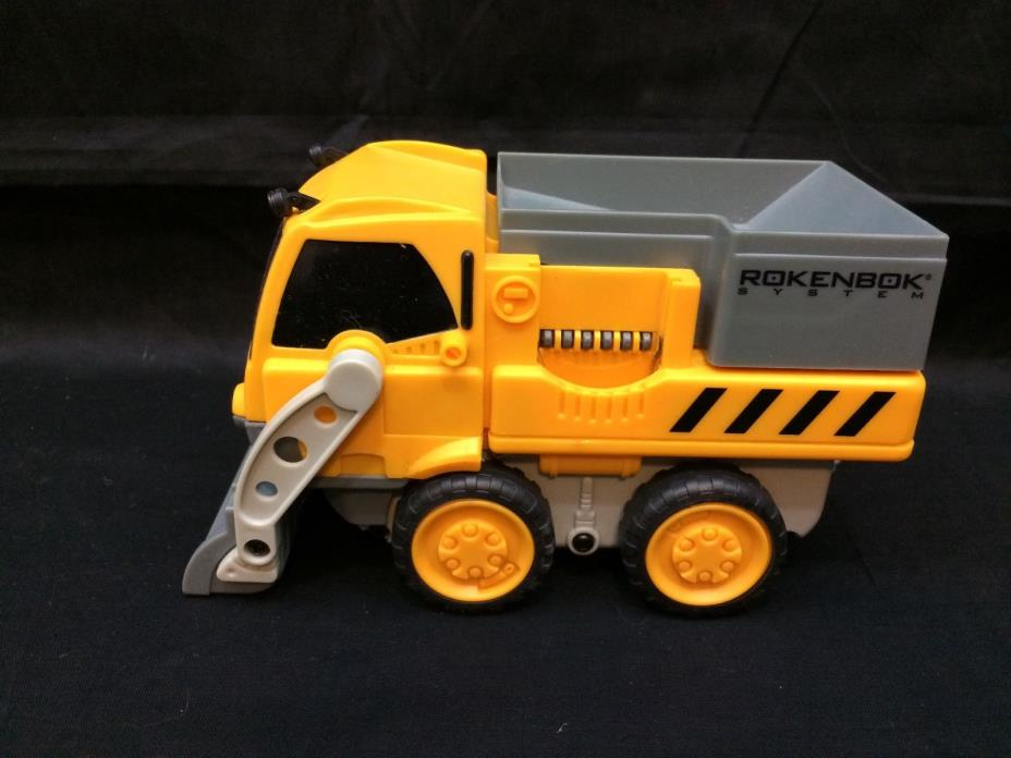 Rokenbok RC 2625 Power Loader Dumper Truck Vehicle Tested and Working VGUC!