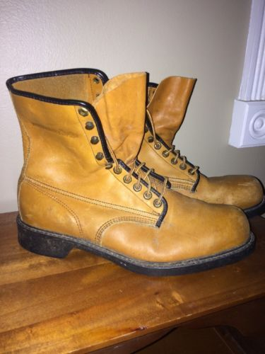 Wolverine Men's size 12 DISTRESSED Leather Boots