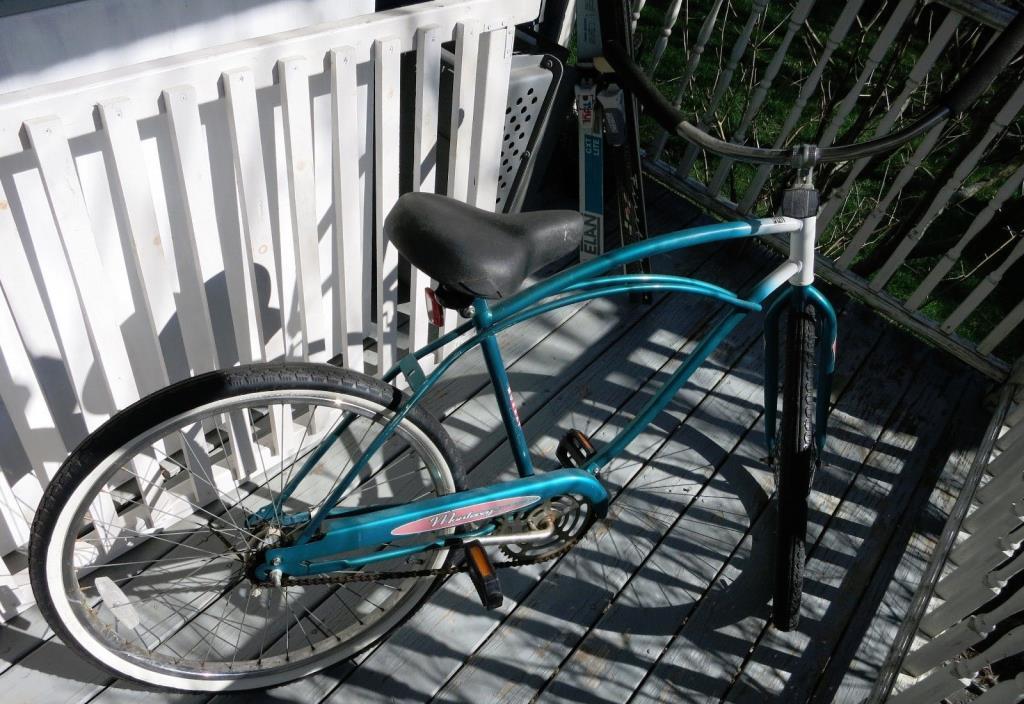 MURRAY MONTEREY BIKE BICYCLE VINTAGE BEACH CRUISER BLUE TEAL 26