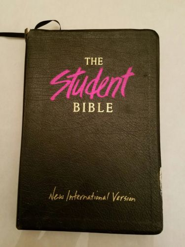 The  student Bible NIV  by Zondervan