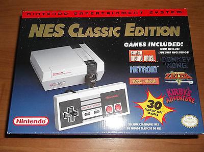 Nintendo NES CLASSIC Edition SYSTEM Console Brand New
