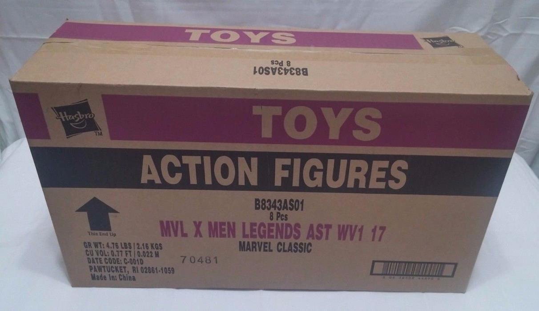 Marvel Legends 2017 X-men Legends Assortment Case of 8 - NEW - B8343AS01