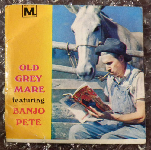 Mighty Tiny Record Old Gray Mare Banjo Pete for 1967 Record Player