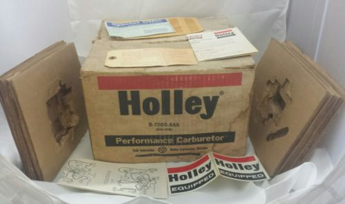 Box Only Holley Carburetor Vintage Stickers Instructions and Tag