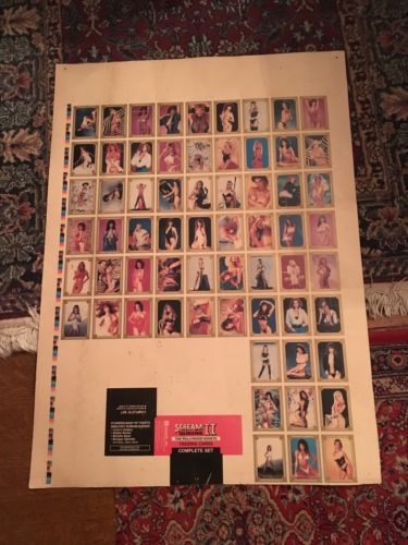 Scream Queens Uncut Sheets Rare