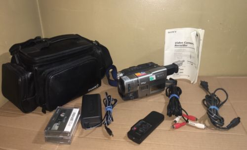 Sony Handycam CCD-TRV67 8mm Video8 HI8 Camcorder Player Stereo Video Transfer