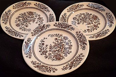THREE(3) Royal China Sussex Cavalier Ironstone 6.5