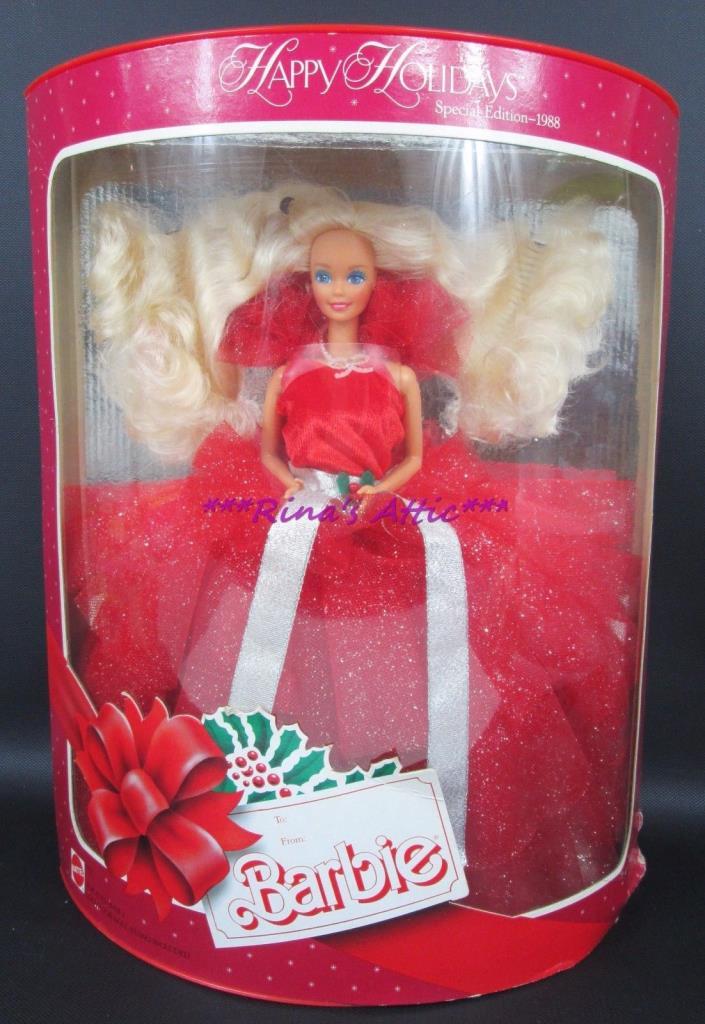 HAPPY HOLIDAYS 1988 Barbie Doll #1703