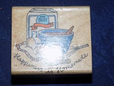 Rubber Stamp-Hero Arts-HAPPINESS IS HOMEMADE