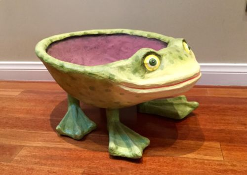 KRINKLES Patience Brewster Large Frog Bowl RETIRED