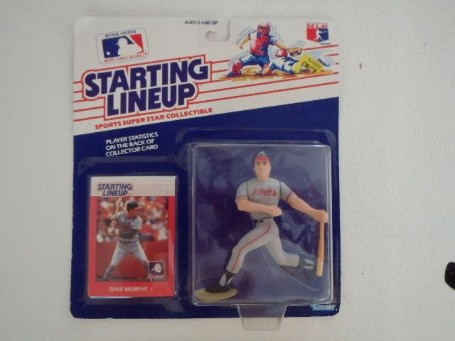 1988 Kenner Starting Lineups Dale Murphy Atlanta Braves  FREE Shipping !!